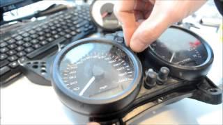 9. 06 Ducati Monster 620 Dashboard Gauges Fix