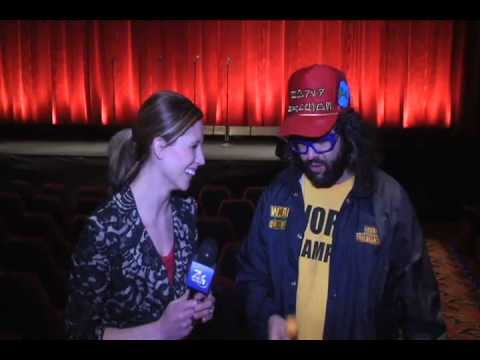 YouTube EXTRA: Hanging out with Comedian Judah Friedlander