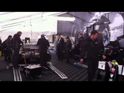IndyCar, SFHR, Garage, Alcohol Fumes