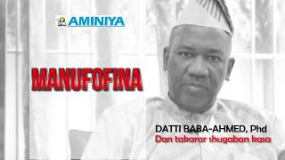 Manufofina - Datti Baba-Ahmed