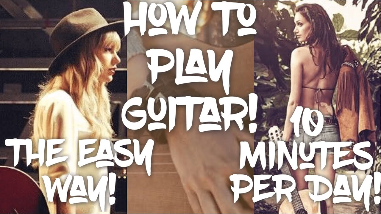 Gorgeous Taylor Swift Guitar Lesson for Beginners // Gorgeous Guitar Tutorial!