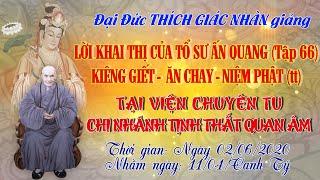 Kiêng Giết - Ăn Chay - Niệm Phật