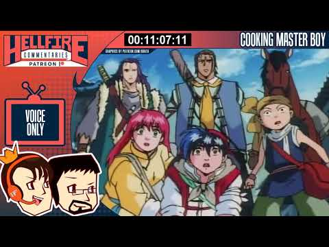 HellfireComms Patreon TV Comms [#58: Cooking Master Boy, Episodes 12-14] (AUDIO COMMENTARY)