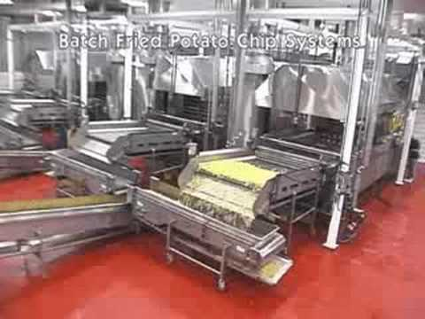Fry up 163 kg/hr of Batch Fry Potato Chips