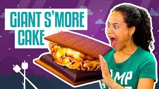 Video How To Make A Giant S'Mores CAKE | Fluffy Marshmallow Fondant | Yolanda Gampp | How To Cake It MP3, 3GP, MP4, WEBM, AVI, FLV Maret 2018