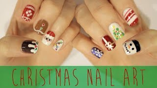 Nail Art for Christmas: The Ultimate Guide! - YouTube