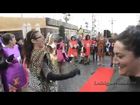 Martes de disfraces en el Carnaval de Isla Cristina 2016