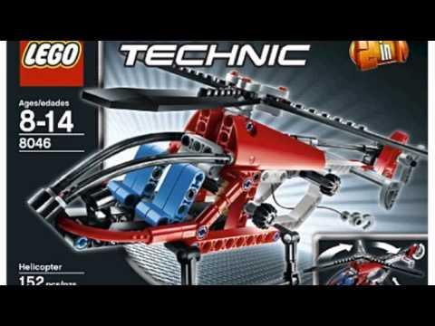 Video New YouTube  video for the Technic Helicopter 8046