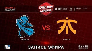 NewBee vs Fnatic, DreamLeague, game 1 [Maelstorm, Lex]