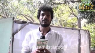 Siddhartha Mohan at Charles Shafiq Karthiga Movie Team Interview