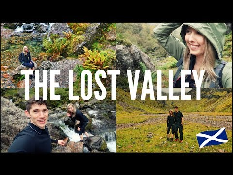 CAUGHT STRIPPING IN THE LOST VALLEY - GLENCOE | SCOTLAND (видео)