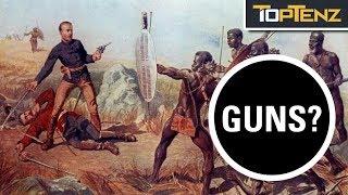 Video 10 Facts About the Zulu Warriors MP3, 3GP, MP4, WEBM, AVI, FLV Juni 2019