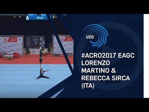 Lorenzo MARTINO & Rebecca SIRCA (ITA) - 2017 12 - 18 mixed pair final