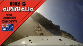 Beachport Australia  city pictures gallery : Jeep Wrangler roll over nearly, dammmmmmm close, beachport, South Australia