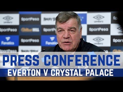Video: PRESS CONFERENCE: ALLARDYCE ON PALACE