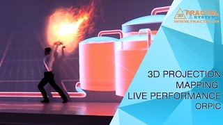 3D Mapping Live Performance - ORPIC