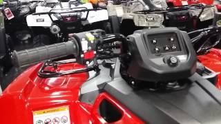 6. 2016 Honda Rancher 420 2x4 ATV Walk-Around Video | TRX420TM1 Manual Shift