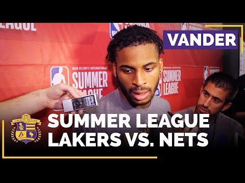 Video: Lakers Summer League: Vander Blue On 27 Point Game, Chemistry With Lonzo Ball