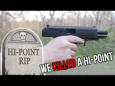 We Killed A Hi Point (видео)