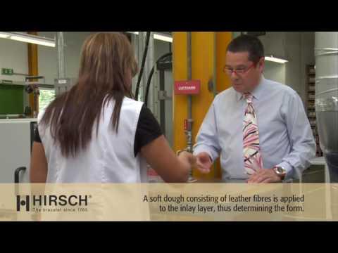 Fabrication des bracelets de montres Hirsch