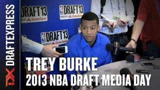 Trey Burke - 2013 NBA Draft Media Day Interview