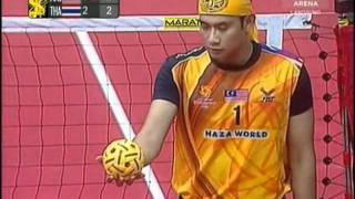 Video Istaf  Sepaktakraw World cup 2011 / Malaysia Vs Thailand Final MP3, 3GP, MP4, WEBM, AVI, FLV Desember 2018