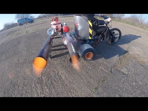 Colin Furze Adds a Pulse Jet to His Motorized Drift