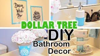 DOLLAR TREE DIY Spring Bathroom Decor