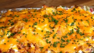 Cheesy Potato Casserole by Tasty