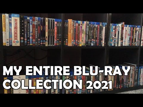 MY ENTIRE BLU-RAY MOVIE COLLECTION 2021!