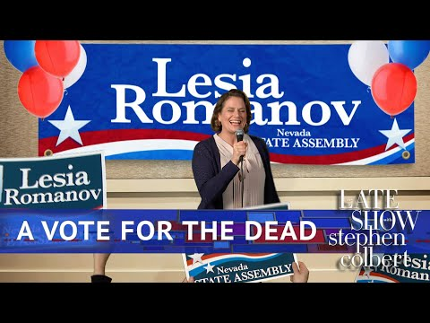 How To Concede To A Dead Politician