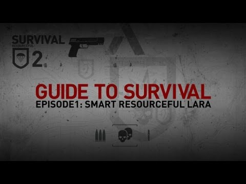 More content on http://www.tombraider.comLike us on Facebook: http://www.facebook.com/TombRaiderFollow us on Twitter: http://www.twitter.com/TombRaiderThe first episode in this new video series explores how Lara must use her wits to become a Survivor.