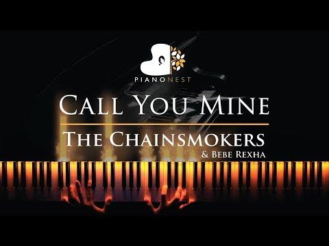 The Chainsmokers, Bebe Rexha - Call You Mine - Piano Karaoke / Sing Along Cover with Lyrics