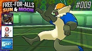 Pokémon Sun & Moon FFAs #009 Feat. PKSparkxx, CuddleofDeath & 6fthax! by King Nappy