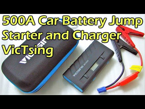 Car Battery Jump Starter 500A with Charging Function - VicTsing
