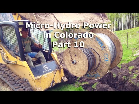 Micro Hydro Electric Power System in Colorado Part 10