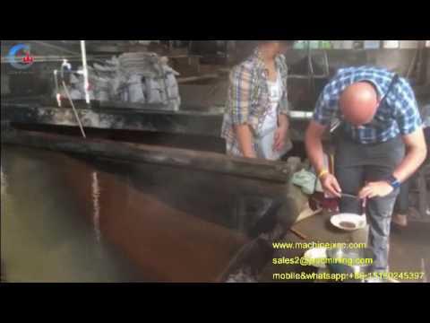 Coltan mining machine coltan concentration machine coltan  separator shaking table for coltan proces