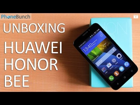 Huawei Honor Bee Unboxing and Hands-on Overview