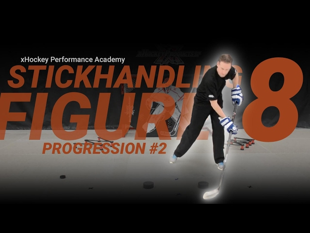 Stickhandling Progression #2: Figure Eight with Weighted Pucks | xHockey Performance Academy