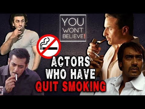 Actors Who Have Stopped Smoking | Aamir Khan, Salm
