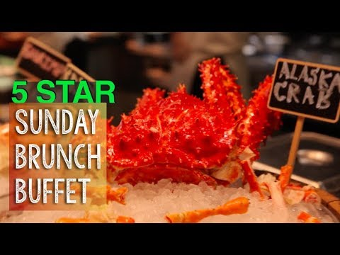 5 Star Sunday Brunch Buffet – Doubletree by Hilton Sukhumvit Bangkok Review