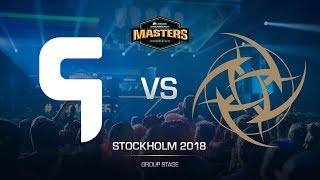 Ghost vs NiP - DH MASTERS Stockholm - map2 - de_train [Anishared, ceh9]