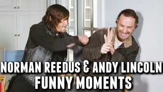 Video Norman Reedus and Andrew Lincoln Funny Bromance Moments MP3, 3GP, MP4, WEBM, AVI, FLV Maret 2019