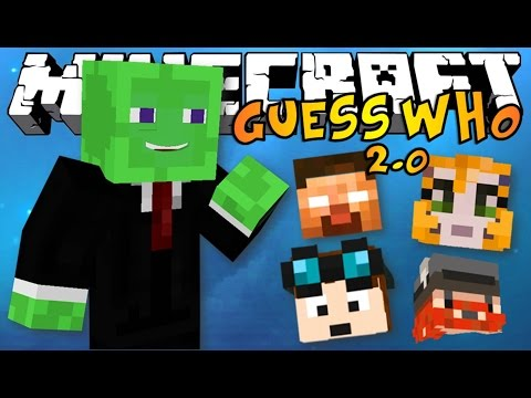 2.0 - The NEW Minecraft Guess Who 2.0 mini-game, is exactly like the old school board game but in Minecraft! In the new 1.8 version of Minecraft is used to utilize some of the awesome new features!...