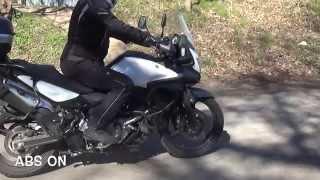 10. ABS test Suzuki V-Strom, Honda CB 500X