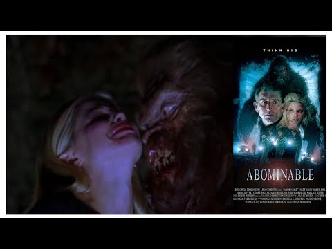 ABOMINABLE 2006 BIG FOOT MONSTER MOVIE REVIEW