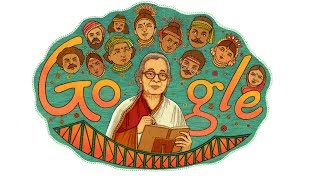 Download Video Mahasweta Devi Google Doodle Biography and Facts MP3 3GP MP4