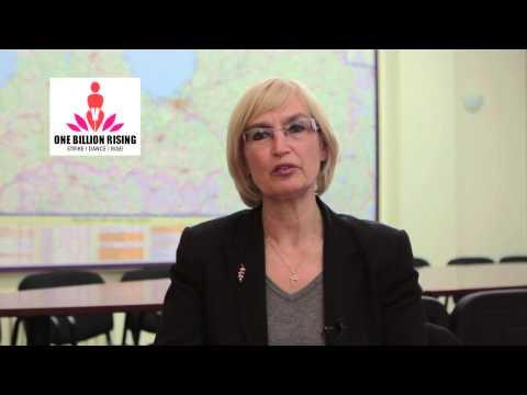 Veselības ministre vērš sabiedrības uzmanību un izpratni par vardarbību, kas vērsta pret sievieti.