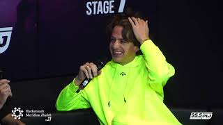 Video Charlie Puth Interview with Race Taylor LIVE from HMH Stage 17! MP3, 3GP, MP4, WEBM, AVI, FLV Mei 2018
