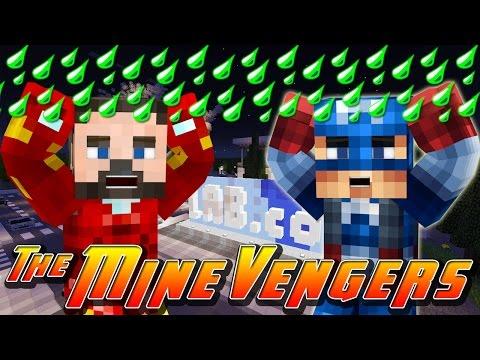 Minecraft MineVengers - GAMMA RADIATION STORM